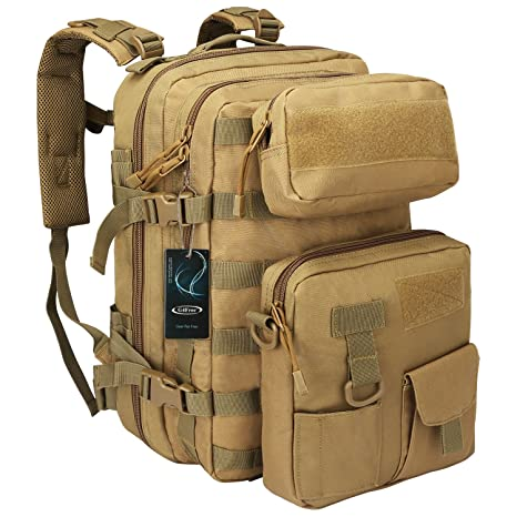 G4Free 40L Sport Outdoor Military Backpack Tactical Backpack 3 Day Assault Pack