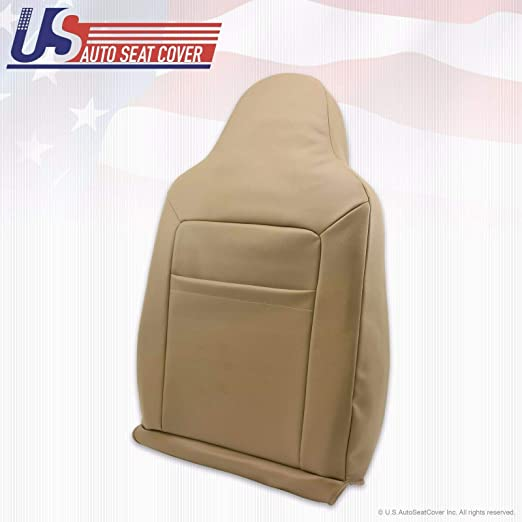Passenger Side Bottom Leather Seat Cover 2-TONE 2004 Ford Excursion EDDIE BAUER