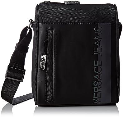 1a45eeeef961 Versace Jeans Men s Ee1yrbb10 E65019Messenger Bag black black ...