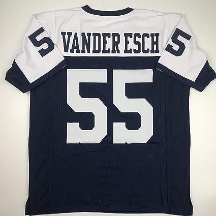 watch fe95b 95acb Amazon.com: Unsigned Leighton Vander Esch Dallas ...