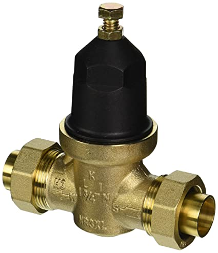 Zurn Wilkins GIDDS-290585 Nr3 Pressure Reducing Valve with Integral Bypass  Check Valve And Strainer, 3/4