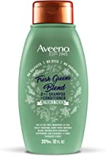 Aveeno Scalp Soothing Fresh Greens Blend 2-in-1 Shampoo + Conditioner, 12