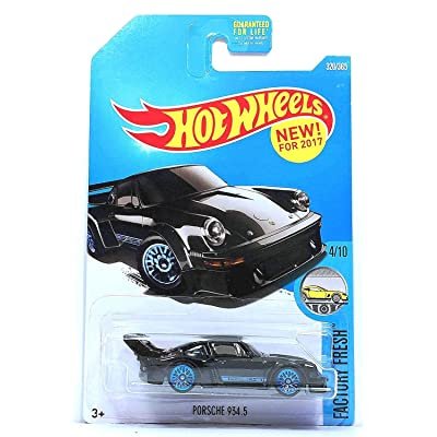 Hot Wheels 2020 Factory Fresh Porsche 934.5 320/365, Black: Toys & Games