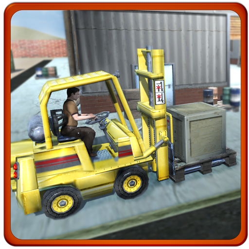 Heavy Forklift Challenge 3D - Carton Truck