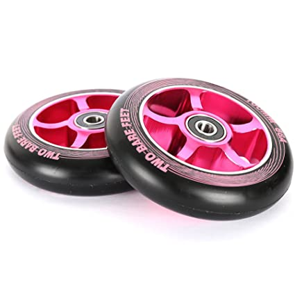 TBF Two Bare Feet Alloy Series - Ruedas de patinete (100 mm ...