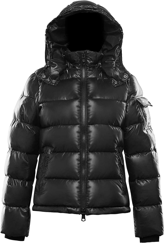 Rich Cotton Women Mona Down Puffer Bubble Jacket Winter Hoodie Outdoor Windproof Alternative Active