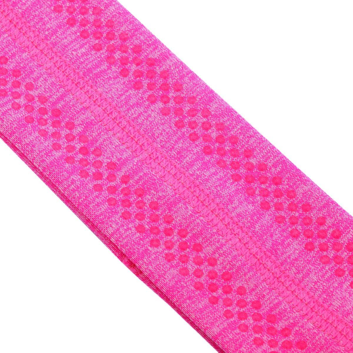 Workout Crossfit Pack of 2 Sportmusies Yoga Headbands for Men Women,Moisture Wicking Sport Sweatbands for Running Cycling