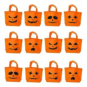 Amazon.com: Halloween - Bolsas para dulces con diseño de ...