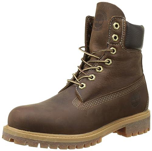 "Timberland Heritage 6"" Premium Waterproof (Wide fit), Botas Clasicas para Hombre,"