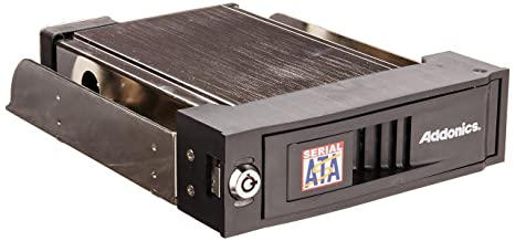 Addonics Snap-in Mobile Rack for 3.5 Sata HDD with Sata Interface