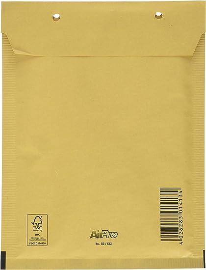Bong AirPro - Pack de 100 bolsas acolchadas, 150 x 215 mm: Amazon ...
