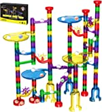 Magicfly Marble Run Set, 127 Pcs Marble Race Track for Kids