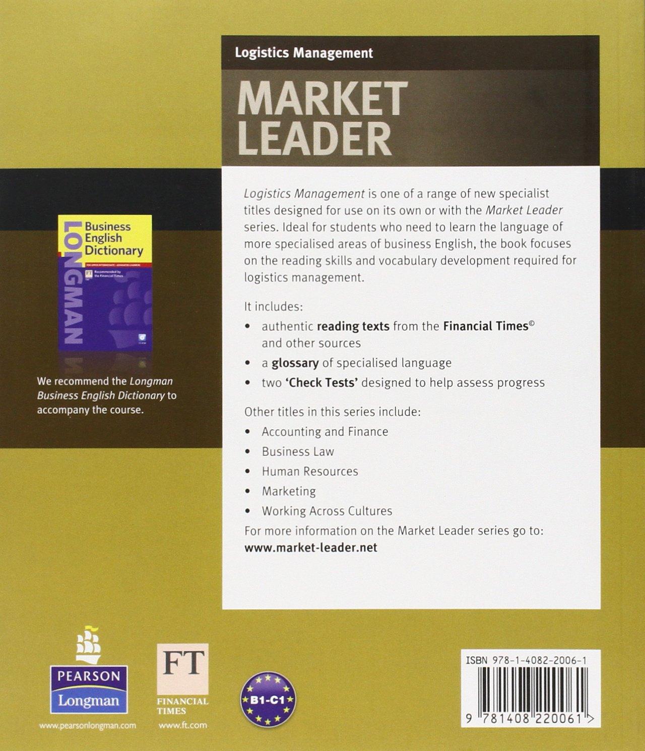 Market Leader Logistics Management ESP Book Business English ...