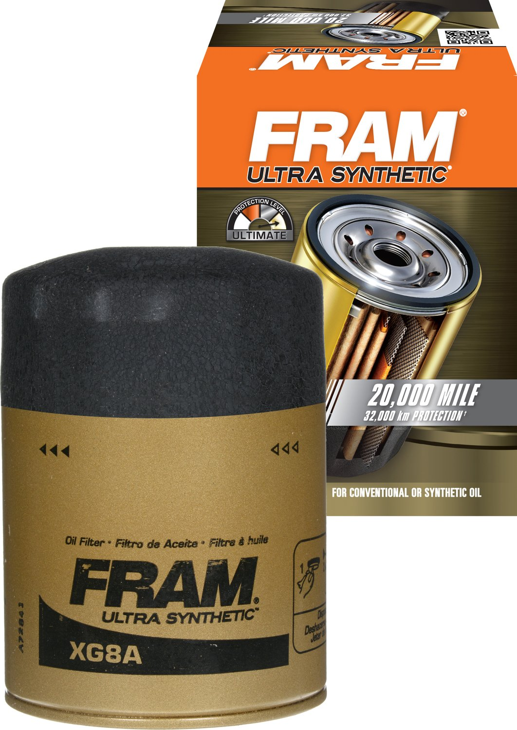 Fram PH8A Extra Guard Passenger Car Spin-On Oil Filter Fram Group