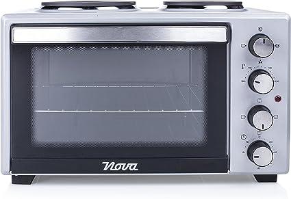 Nova Horno - Cocina (Tabletop cooker, Negro, Gris, Giratorio ...