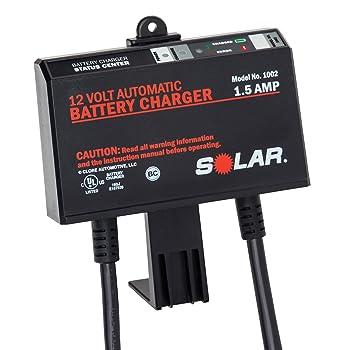 Amazon.com: Solar 1002 1,5 amperios 12 V automático a bordo ...