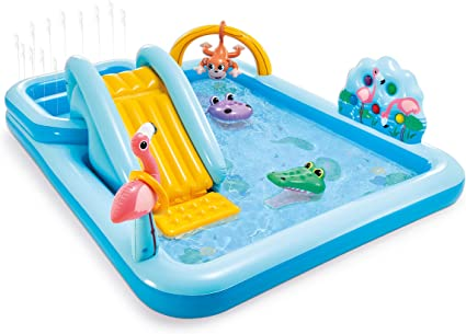 Amazon.com: Intex Jungle Adventure Play Center - Piscina ...