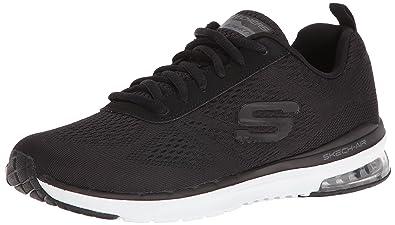 SKECHERS SKECH AIR INFINITY Schwarz Damen Schuhe Memory Foam