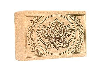 Amazon.com : Cork Yoga Blocks | Sustainable Eco-Friendly ...