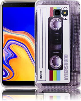 thematys® Compatible para Samsung Galaxy J4 Plus Cassette RetroFunda de Silicona para teléfono móvil: Amazon.es: Electrónica
