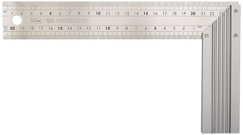 Facom SN.1223 - Escuadra plana y de inglete (acero inoxidable) SN.1223.03