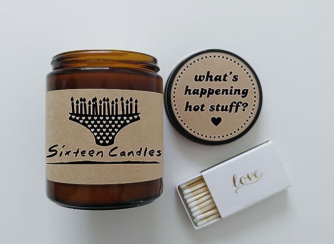 Amazon Sixteen Candles Gift Birthday Cake Scented Candle Jake