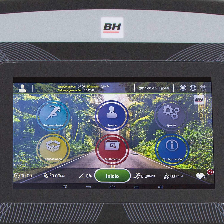 BH Fitness - Cinta de Correr f3 tft: Amazon.es: Deportes y aire libre