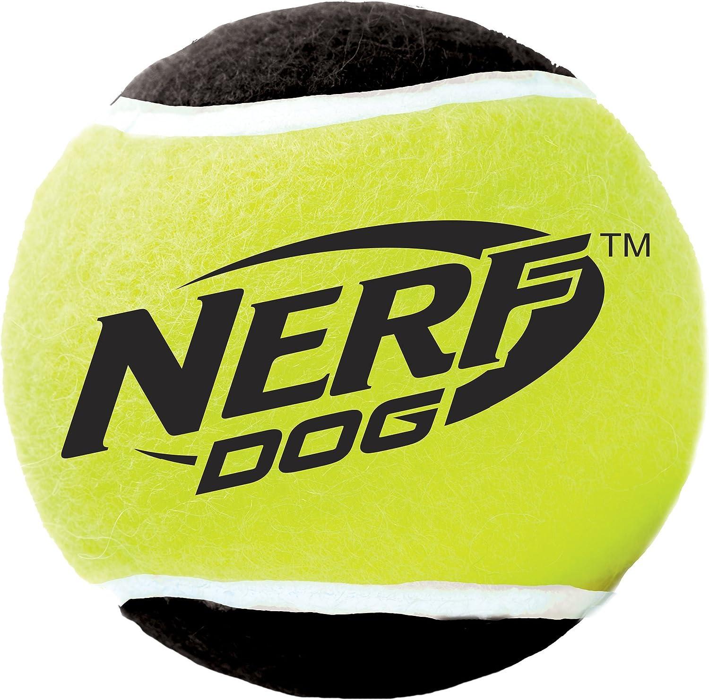 Amazon.com: Nerf perro pequeño Squeak pelotas de tenis Dog ...