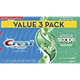 Crest Complete Whitening Plus Scope Toothpaste - Minty Fresh, 6.2 oz, Pack of 3 (Packaging may vary)