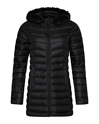 ea274366244d3 WE fashion 78066632 manteau léger pour femme - Noir - XL  Amazon.fr ...