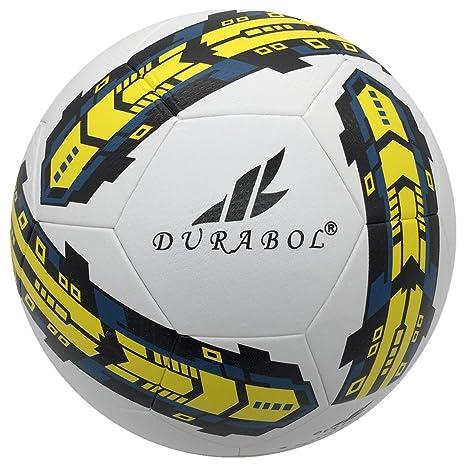 Durabol Balón de Fútbol Entrenamiento Talla 5 (BLANCO 2): Amazon ...