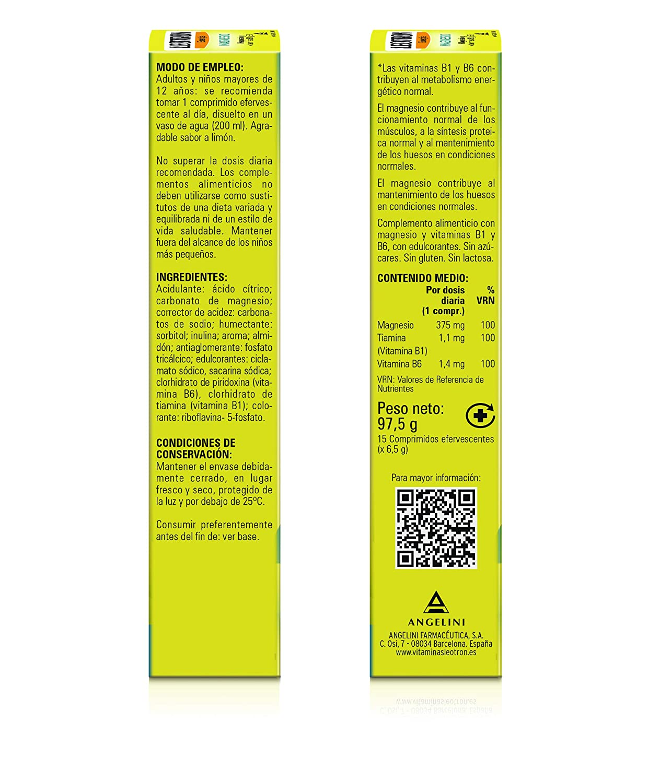 Leotron Magnesio - 4 Paquetes de 15 Comprimidos: Amazon.es: Salud y cuidado personal