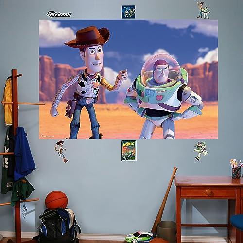 Woody & Buzz Mural