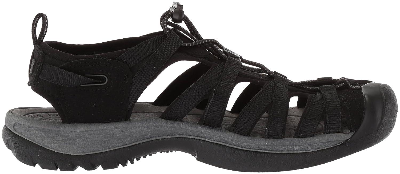 KEEN Women's B06ZYHGBKN Whisper-w Sandal B06ZYHGBKN Women's 10 B(M) US|Black/Magnet 314eaa
