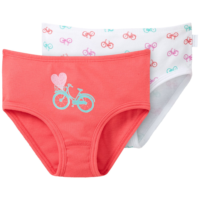 Schiesser 2pack Hftslips, Slip per bambine e ragazze, Confezione da 2 148610