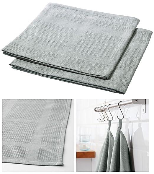 IKEA IRIS estándar calidad algodón cocina mano toalla de té (para ...