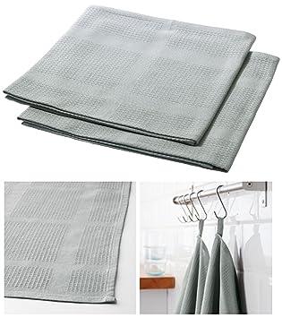 IKEA IRIS estándar calidad algodón cocina mano toalla de té (para uso Regular [Pack