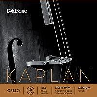 D'Addario Kaplan Cello Single A String, 4/4 Scale, Medium Tension