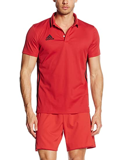 b5f588dfc Amazon.com: adidas Men's Condivo 16 Climalite Polo Shirt Training Top:  Sports & Outdoors