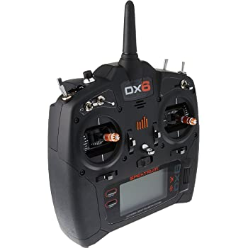 amazon com spektrum dx6e 6ch transmitter toys games rh amazon com Spektrum DX6 Park Flyer System Spektrum Transmitter Logo
