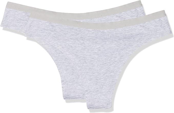 Womens Secret 5663385 Braguita Brasileña, Gris (Grey 46), (Tamaño del Fabricante:XXXL) (Pack de 2) para Mujer: Amazon.es: Ropa y accesorios