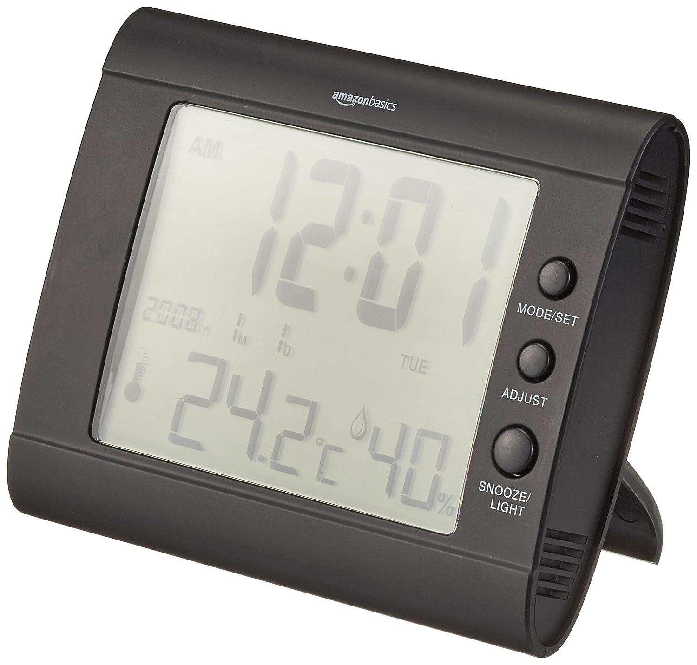 AmazonBasics - Digitales Thermo-Hygrometer - Schwarz HH660_BL
