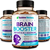 41 in 1 Brain Booster Supplement for Focus, Memory, Clarity, Energy, Concentration | Natural Nootropics Brain Support Supplem