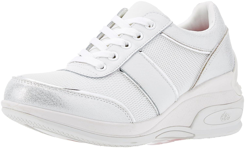 Fornarina Daily, Zapatillas Para Mujer 41 EU|Bianco (Bianco)