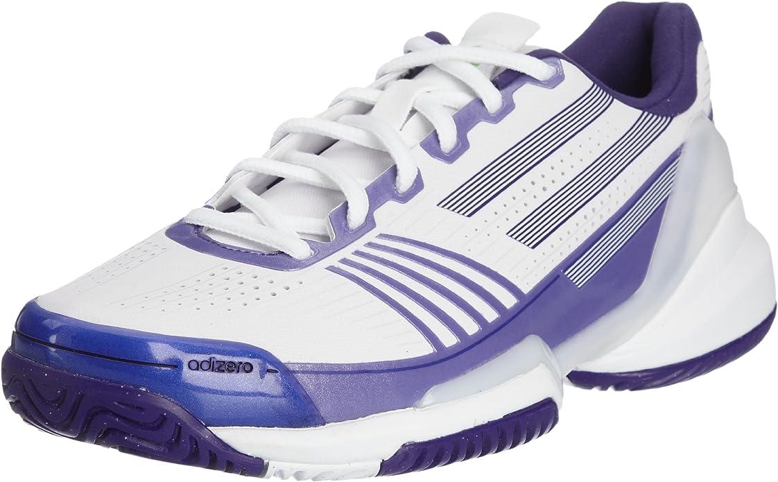 Adidas Adizero Feather w, Zapatillas de Tenis Sports Shoes, Blanco, 39 EU: Amazon.es: Zapatos y complementos