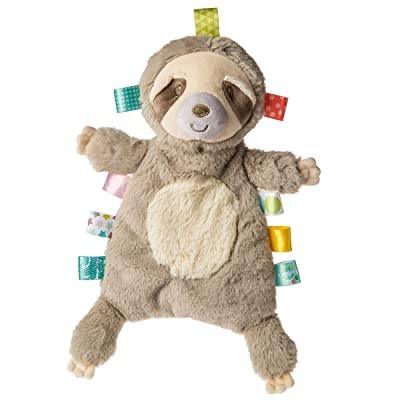 "Taggies Lovey Soft Toy, 11"", Molasses Sloth : Baby"