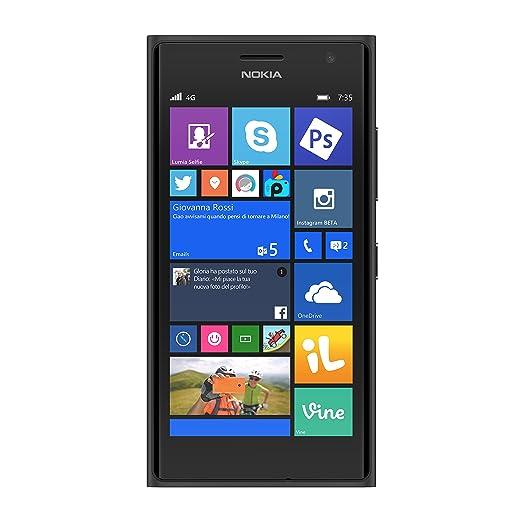 374 opinioni per Nokia Lumia 735 Smartphone, 8 GB, Grigio
