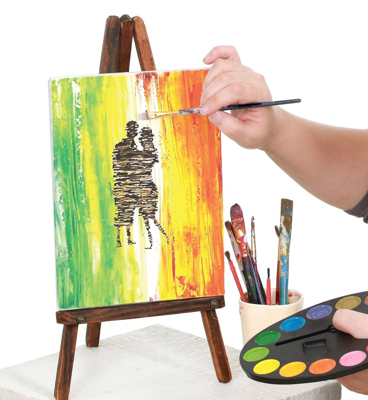 Amazon.com: Greenco Professional Quality Canvas Panel 8 x 10 inch ...