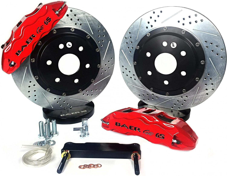 BAER BRAKES 4302464B-BKCZ Brake System 1 Pack 13 Rear Pro+ w//Park Brake Black 98-02 GM F Body