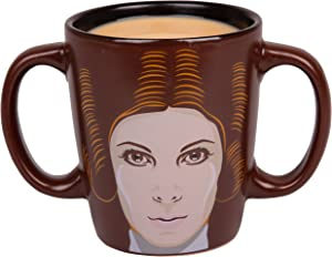 Star Wars Princess Leia Double Handled Ceramic Coffee Mug - 11 oz